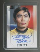 Star Trek Inflexions George Takei Autographed Card