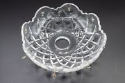 Waterford Crystal Avoca Chandelier Bobeche 8 Prism 4 5/8 Chip Replacement Part