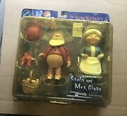 """Neca 2002 Sam Goody Exclusive """"santa And Mrs Claus"""" The Year Without A Santa Claus"""