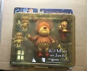 """Neca Sam Goody Exclusive """"heat Miser And Jangle"""" The Year Without A Santa Claus"""