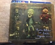 """Neca Sam Goody Exclusive """"snow Miser And Jingle"""" The Year Without A Santa Claus"""