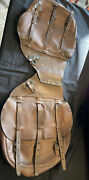 Wwi Us Army Cavalry Leather Saddle Bags Please See Description