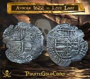 Lost Loot 1622 Atocha Shipwreck Part Dated 61 8 Reales Grade Pirate Gold Coin