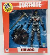 Fortnit Epic Games Mcfarlane Toys - Havoc - 7 Inch Action Figure 22 Moving Parts