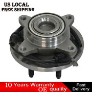 Front Wheel Bearing And Hub Assembly For 2009 2010 Ford F-150 2wd W/ Abs 6 Bolt