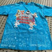 Rare Bullwinkle 90s Made In Usa T-shirt Total Pattern