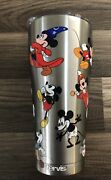 Tervis 1297812 Mickey Mouse 90th Birthday Stainless Steel Insulated Tumbler