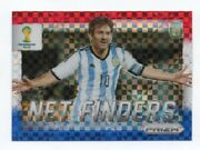 2014 Prizm World Cup Soccer Lionel Messi Net Finders Red White And Blue