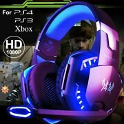 Gaming Wired Headset For Pc Ps4 Ps3 Stereo Surround Quality Hd Sound Headphone