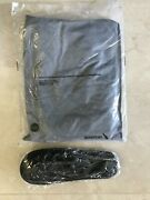 New American Airlines First Class Gray Pjand039s Pajamas Size L-xl And Black Slippers