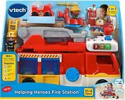 Vtech Helping Heroes Fire Station Toy Play Set English Version