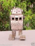Vintage Old Collectible Rare Wind Up Fire Sparkling Fine Robot Toy Made In Japan