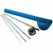 Redington 990-4 9 Wt 9 Foot 4 Piece Fly Fishing Rod And Reel Combo Used