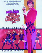 Austin Powers The Spy Who Shagged Me Movie Cast - Photograph Signed