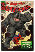 Amazing Spider-man 41 1966 - Grade 6.0 - 1st Appearance Of The Rhino