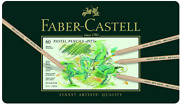 Faber-castel Fc112160 Pitt Pastel Pencils In A Metal Tin 60 Pack, Assorted