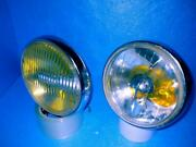 Old Car Things At The Time Ipf.excel Pair Of Fog And Spot Lamps Used Goods