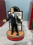 3 Carlton Cards Heirloom Musical Collection Christmas Ornaments Hope And Sinatra