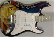 Willie Nelson - Guitar Signed