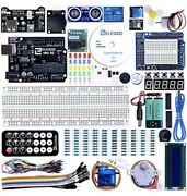 Elegoo Uno Project Super Starter Kit With Tutorial And Uno R3 Compatible Arduino
