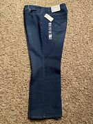 Christopher And Banks Barely Boot 22wp Petite Relaxed Fit High Rise Jeans New
