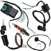 Wire Harness Wiring Loom Cdi Ignition Coil Spark Plug Kill Switch Rebuild Kit