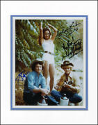 Dukes Of Hazzard Tv Cast - Photograph Signed With Co-signers