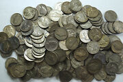 Roll 40 Coins 1942 - 45 Silver War Time Jefferson Nickels
