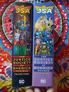 Justice Society Of America Omnibus Vol 2 And Vol 3 By Geoff Johns Lot Of 2