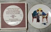 Norman Rockwell Four Seasons 1982 Collector Plates Set Of 4 Life With Father