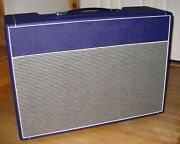 British Style 18 Watt 2x12 Guitar Amplifier Combo Cabinet By Weber + Chassis
