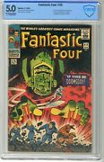 Fantastic Four 49 Cbcs 5.0 Vgf 4/66 Off White/wht Pgs 1st Cover And 2nd App