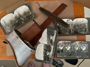 Antique Ingersol View Co. St. Paul Minn Stereo Viewer Stereoscope W/ Wwi Cards