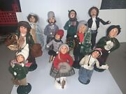 Byers Choice Ltd Carolers 1992 To 2000- Mixed Lot Of 11 - Great Condition