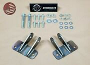 [sr] 63-87 Chevy C10 C20 Front Shock Relocation / Extender Kit For Lowered Truck