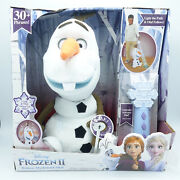 Frozen 2 Follow Me Friend Olaf Talking, Singing, Moving With Controller