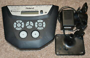 Roland Td-6v V-drum Brain Module W/ Rack Clamp, Module Mount And Power Supply
