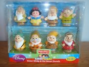 New Fisher Price Little People Disney Snow White And The Seven Dwarfs