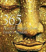 365 Peaceful Thoughts From Eastern Wisdom 365 Inspirations By Star White Book