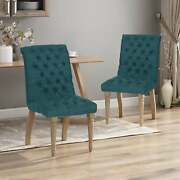 Fieldmaple Tufted Dining Chair Set Of 2 By Christopher