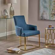 Gloria Modern Glam Fabric Chair By Christopher Knight Home