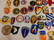 Lot Of 50 Us Military And Veteran Iron On Patches All Brand New Collectiblec162