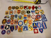 Lot Of 50 Us Military And Veteran Iron On Patches All Brand New Collectiblec164