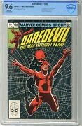 Daredevil 188  Cbcs 9.6  Nm+  White Pages  11/82 1st App. Of Stone, Claw