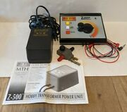 Mth Railking Z-500 Hobby Transformer Controller Power Pack Lock On And Manual