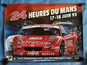 Collection Of 3 Le Mans 24 Hours Official Posters Years 1995/98/99