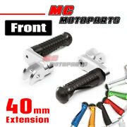 Cnc Mpro 40mm Riser Front Foot Pegs For Ducati Monster 821 750 996 998 848 1199