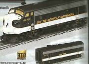 Lionel 6-20332806-2033288and6-2033289 Legacy Norfolkandsouthern F-9 Abba Diesel Set