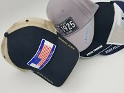 Personalized State Police Trooper Highway Patrol License Plate Hat Cap
