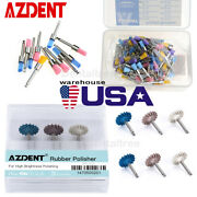 Azdent Dental Polishing Brushes/disc Kit For Low Speed Contra Angle Handpiece